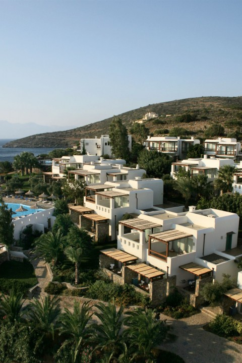 AQUILA ELOUNDA VILLAGE – PANORAMIC VIEW OF THE BUNGALOW SECTION
